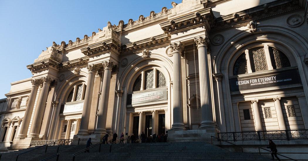 Le MET de New York est l'une des institutions culturelles les plus puissantes au monde Image: Robert Wright pour The New York Times