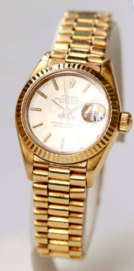 Rolex Oyster Perpetual Datejust or jaune
