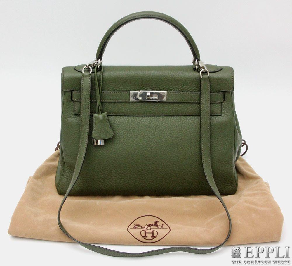 "HERMÈS handväska, ""KELLY BAG 32"". Utrop: 39 000 SEK. Eppli"