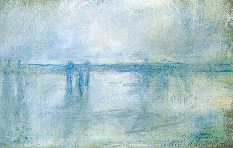 Il ponte di Cross Bridge, Claude Monet. 1901, olio su tela.