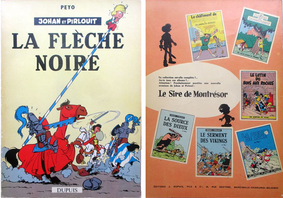 "Johan y Pirluit. ""La Flèche Noire"" (1957)"