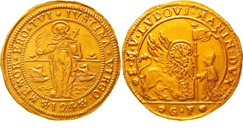 Venedig (Ludovico Manin), Ducatone zu 24 Zecchini o. J. (1789/1790)