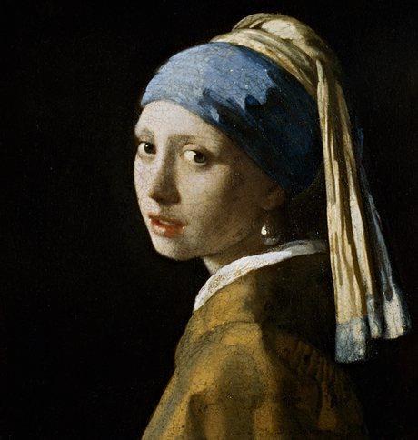 Johannes Vermeer – Flicka med pärlörhänge (c 1665-67)