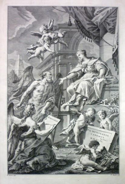 ANDREA PALLADIO - Architettura, 4 Bände, Venedig, Angiolo Pasinelli, 1740