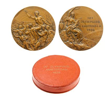 Médailles de bronze des JO de 1928 MPO Auctions Estimation basse: 3 500 €