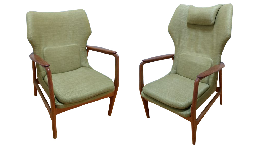Ib Madsen and Acton Schubell for Bovenkamp, Sofa and Small Armchairs. Photo: Catawiki