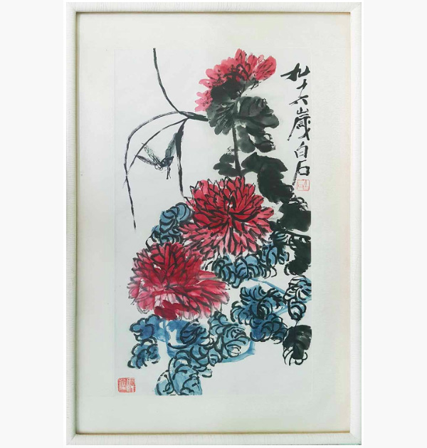 Qi Baishi, 'A Painting in Ink and Colour on Paper'. Photo: Lots Road