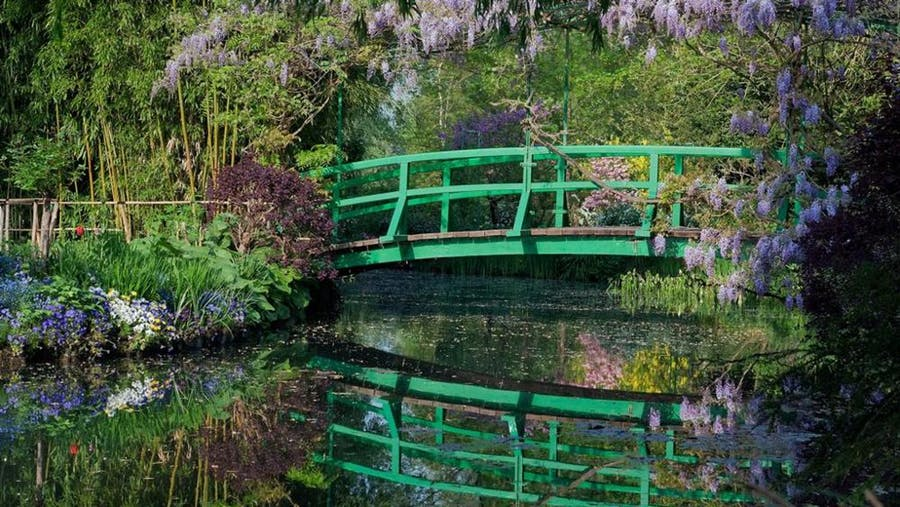 The Japanese Bridge in Giverny