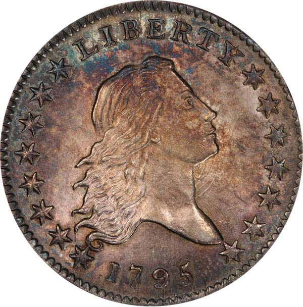 1795 U.S. 50-cent coin