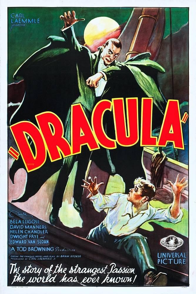 """""""Dracula"""" (1931, Universal Pictures), Plakat für den US-Markt"""