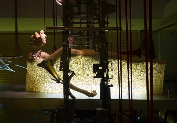 Gabriel Barredo在2015年的展示Opera (Manila) 圖片:silverlensgalleries
