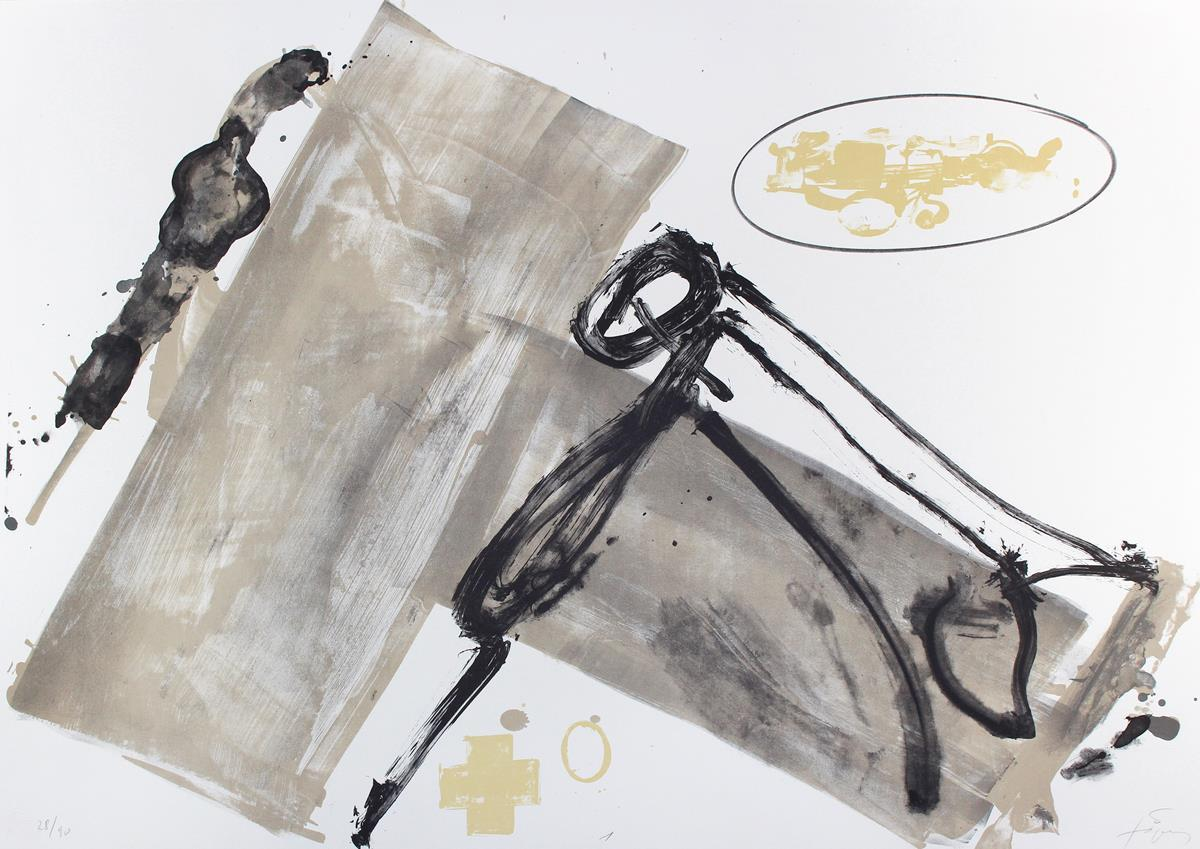 Antoni Tàpies (1923 Barcelona 2012), Suite, 1980. Foto: Kiefer.