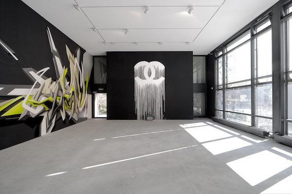 """L'exposition """"Waking up nights"""" en 2007 à la galerie Pury & Luxembourg à Zurich"""