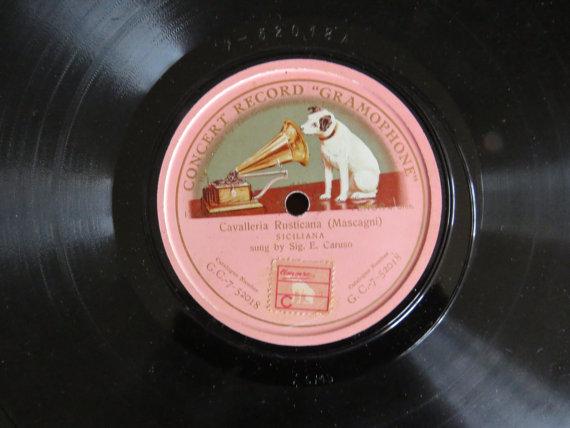 Disque phonographique, image via Wikipedia