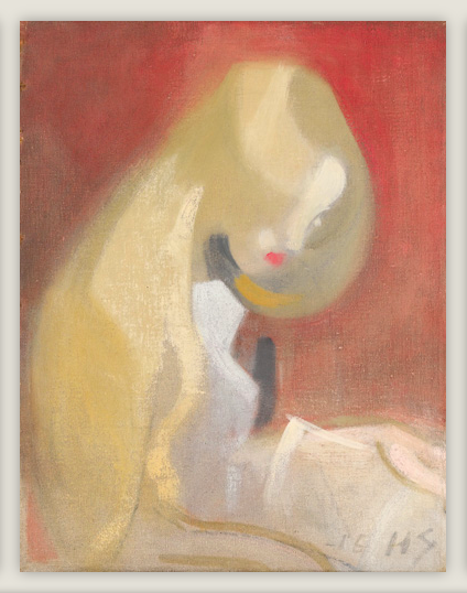 Flicka med blont hår, 1916. Utrop: ca 6.400.000-9.000.000 sek. Sotheby's