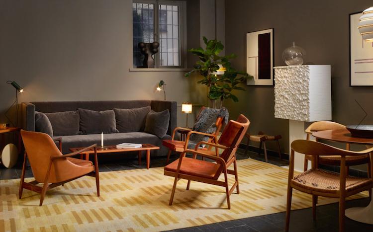 Ilse skapade prototypen till soffan för flera år sedan men har förfinat den under åren och gav nu