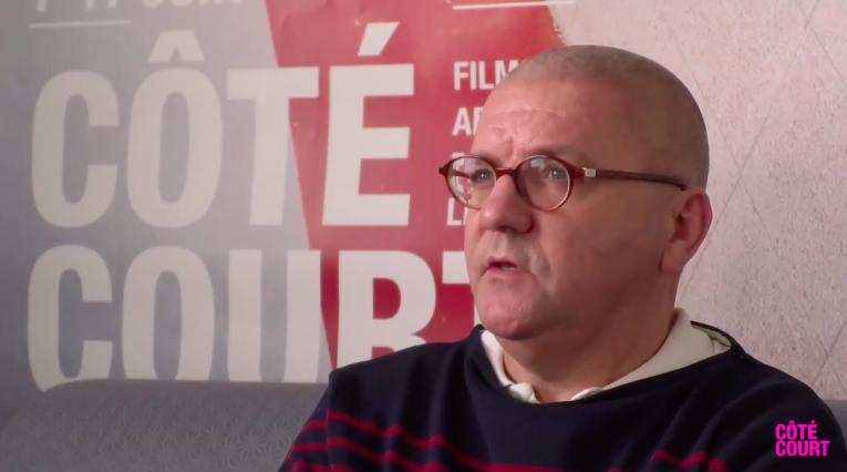 François Zabaleta en interview aux séances Ecran Libre Image via Côté Court