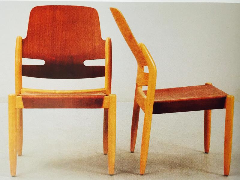 6. 804/3B, stol, Gunnar Eklöf, 1949/1950. Bild: Svenska möbler