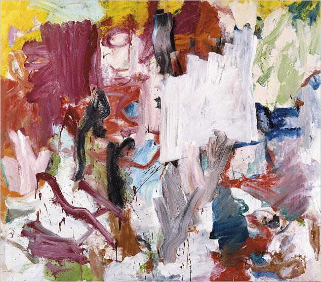 Willem de Kooning, Untitled XXV (1977) Courtesy Christie's