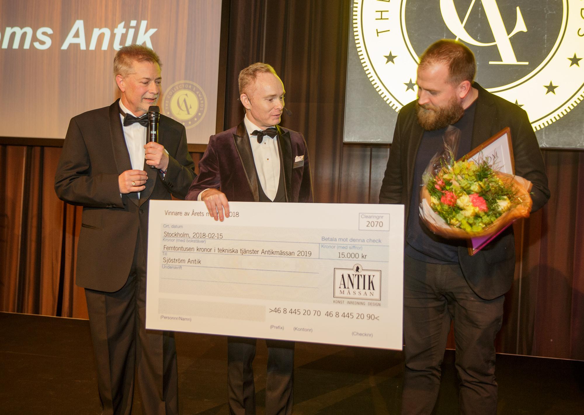 Sjöström Antik tog hem Årets Monter