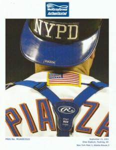 Helmet Mike Piazza wore
