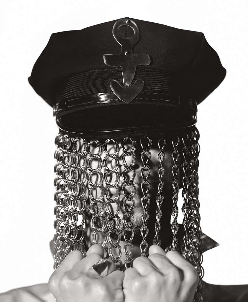 Herb Ritts, Prince (Hat with Chains), Minneapolis 1991 Image via Herb Ritts