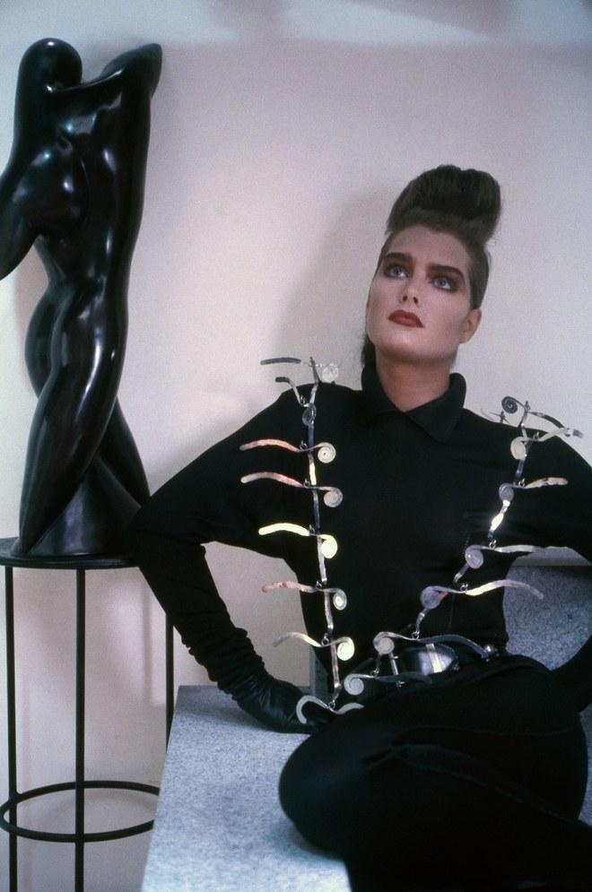 Brooke Shields, 1985, edition de 15. Sheila Metzner, ©2016 Calder Foundation, New York, Photo ©Sheila Metzner