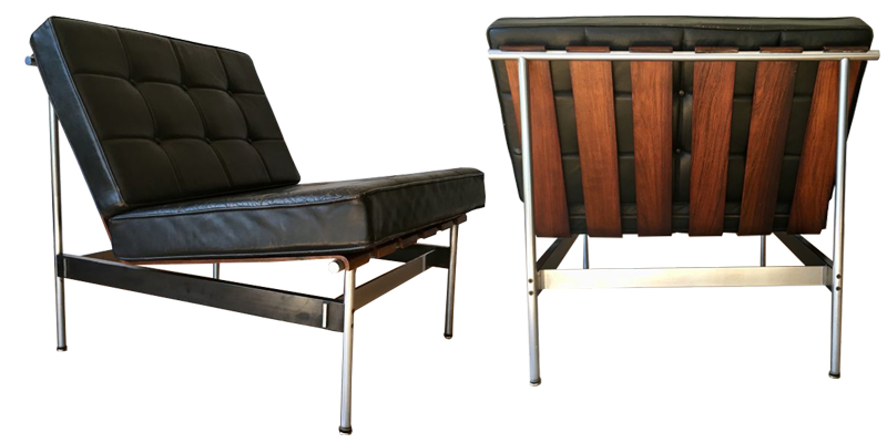Kho Liang Ie pour Artifort, paire de fauteuils, 1959