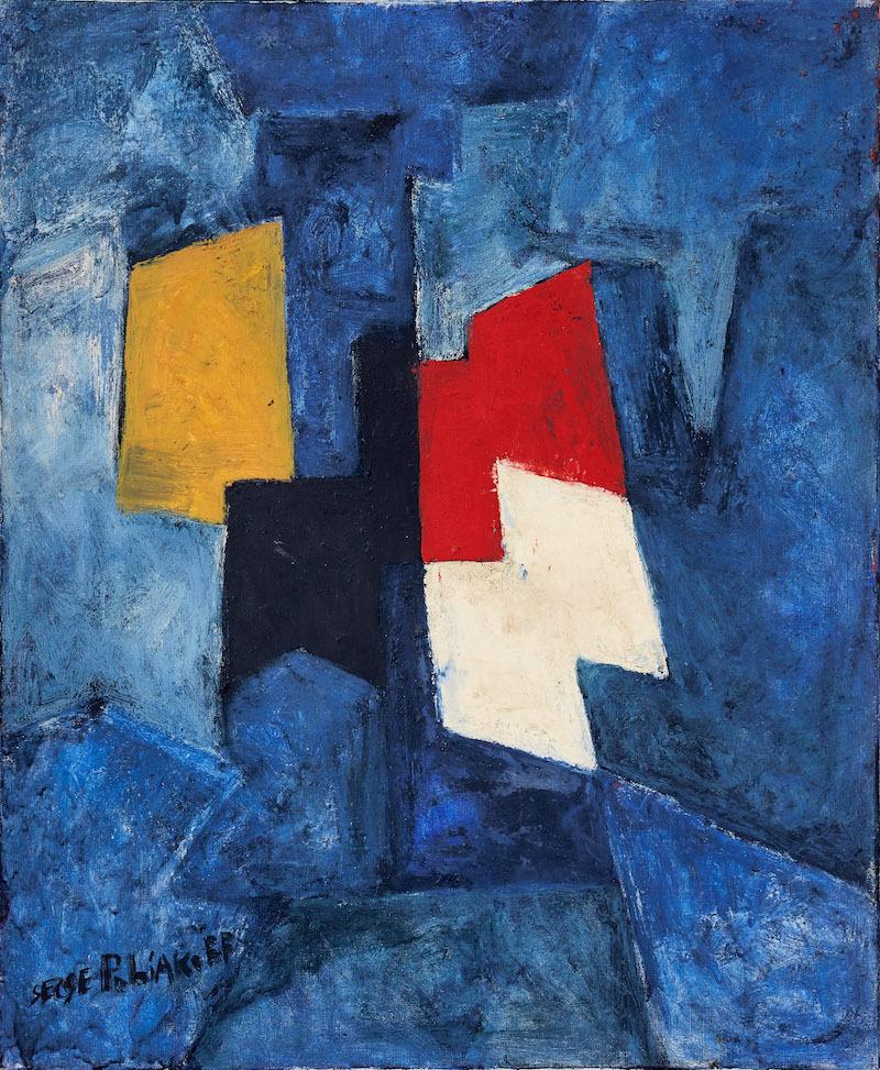 Serge Poliakoff, Composition abstraite, 1967
