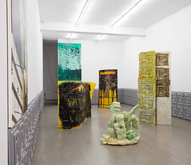YTTERSTAD, 2015, installation view Johan Berggren Gallery Malmö, photo: Helene Toresdotter, courtesy the artist and Johan Berggren Gallery.