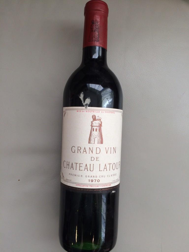 Ch. Latour 1970, Premier Grand Cru Pauillac Mindestpreis: 540 EUR
