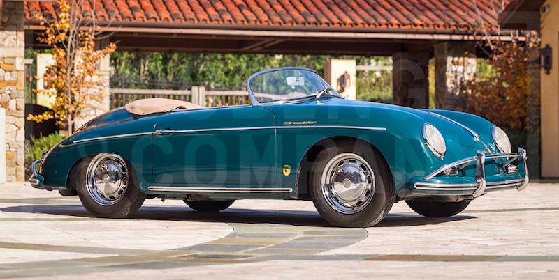 1958 Porsche 356 A Super Speedster. Utrop 2,3 miljoner kronor hos Gooding & Company
