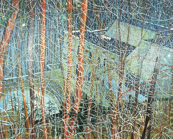 Peter Doig, The Architects Home In The Ravine, 1991
