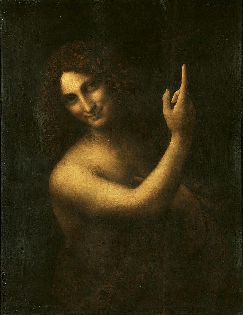 John the Baptist. Image: Wikimedia Commons John the Baptist. Image: Wikimedia Commons