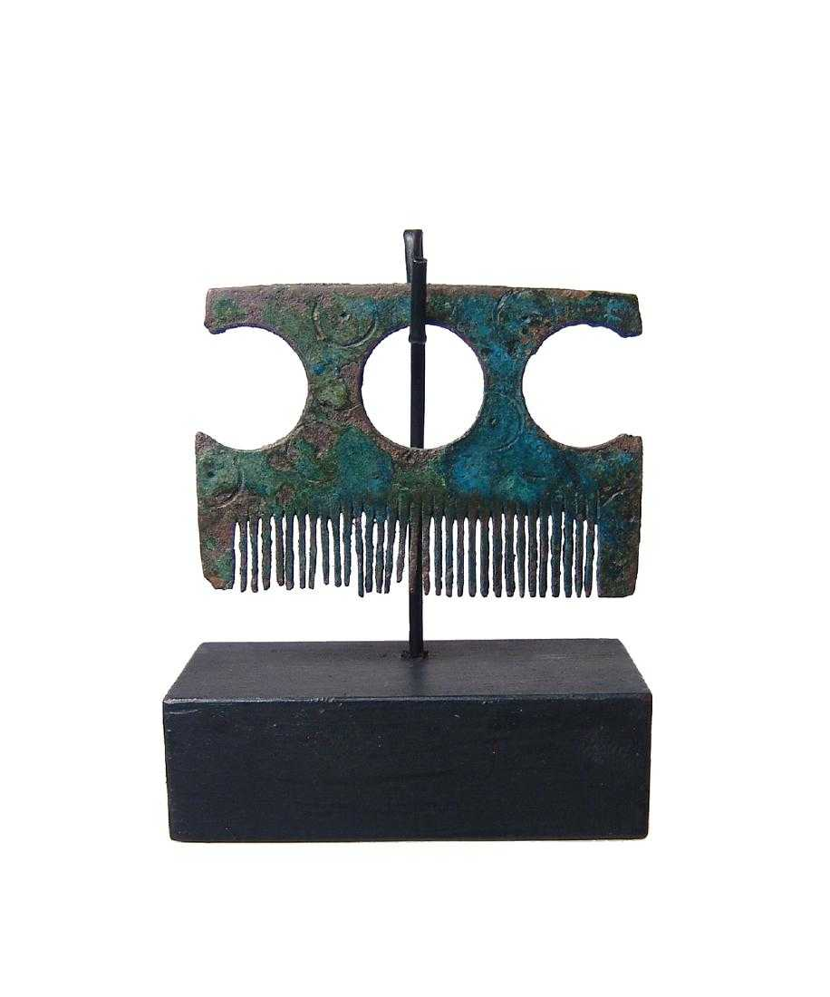 Rare Viking Bronze Comb, Northern Europe