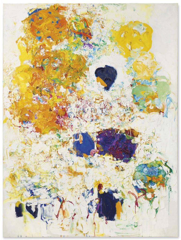 Joan Mitchell, Blueberry, Abb.: ©Christie's