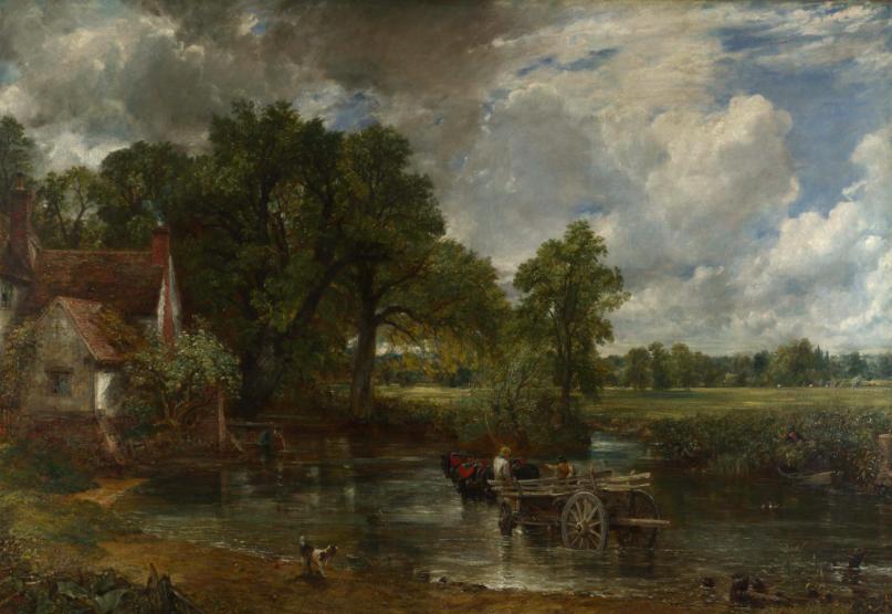 The Hay Wain, John Constable R.A (1776-1837).