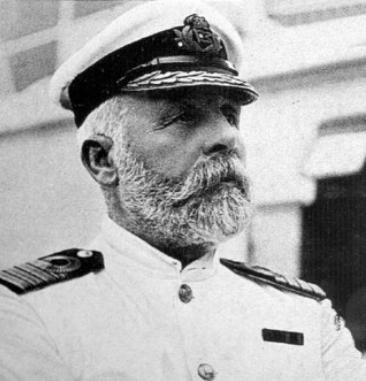 Er ging mit seinem Schiff unter: Kapitän Edward John Smith | Foto via Exponaut