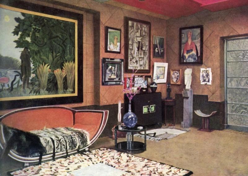 Art Deco interior. Photo: Phillips.
