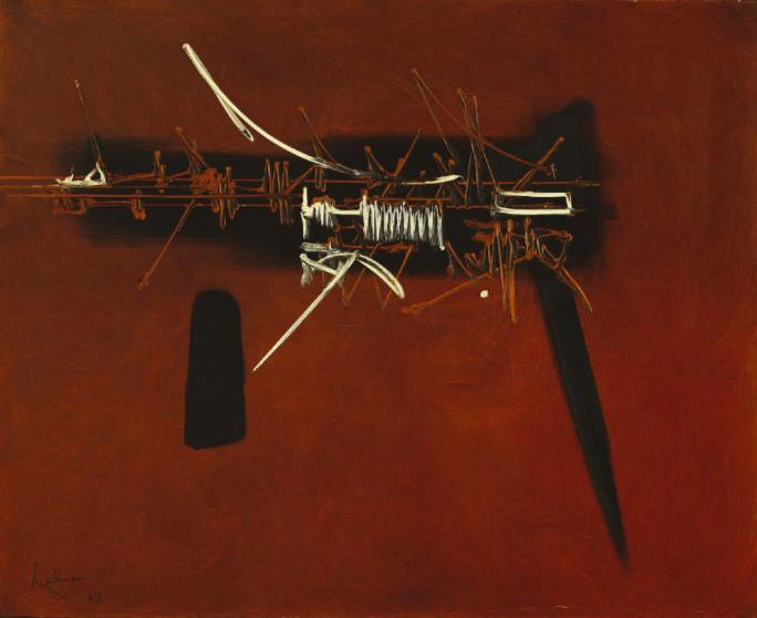 Georges Mathieu, 'Li Duan', 1967. Photo: Leclere
