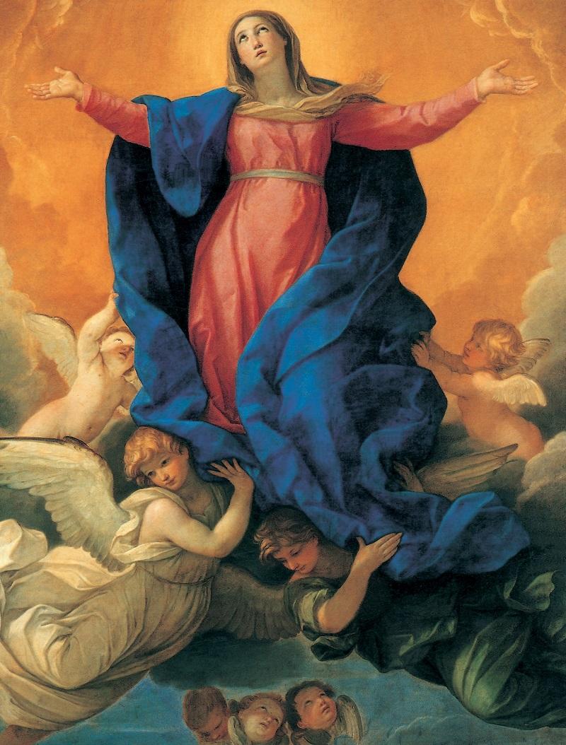 GUIDO RENI. La Asunción de la Virgen. Iglesia de Santa María Asunta. Módena
