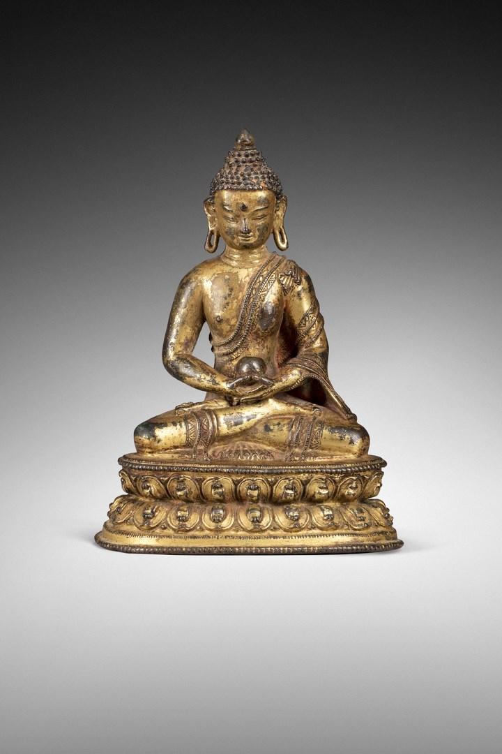 拍品72. 16世紀﹣17世紀西藏無量壽佛像. 圖片來源:Rossini