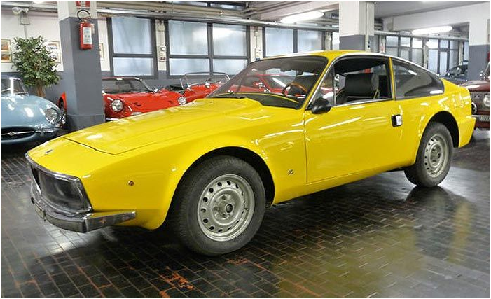 ALFA ROMEO - Junior Zagato 1600 - 1973. Utropspris: 620 000 - 811 000 kronor.