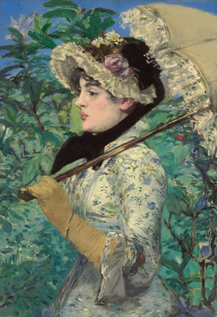 EDOUARD MANET. Le Printemps, 1881. Estimated at $25,000,000 – $35,000,000. Christie's