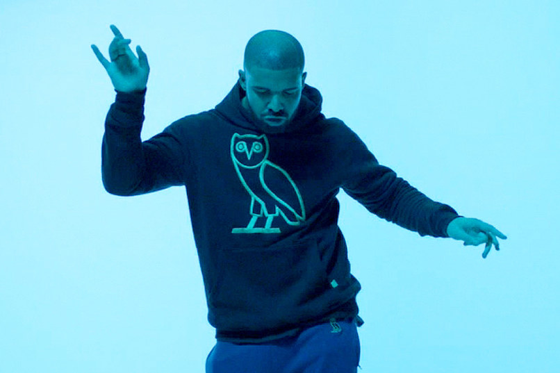 Drake in the video for Hotline Bling Image via GQ