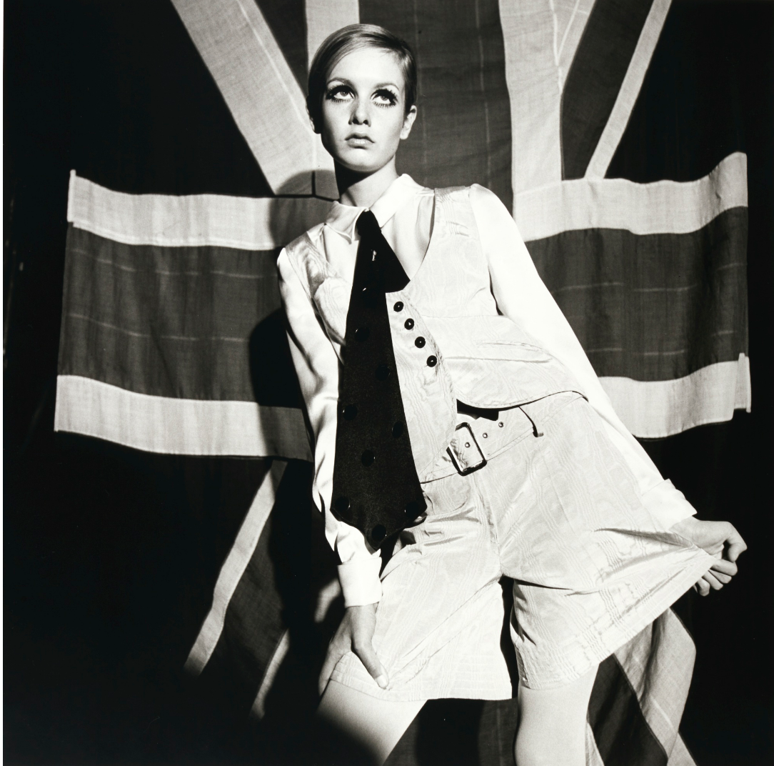 Terence Donovan portrait of Twiggy, 1966. Photo: Sotheby's.