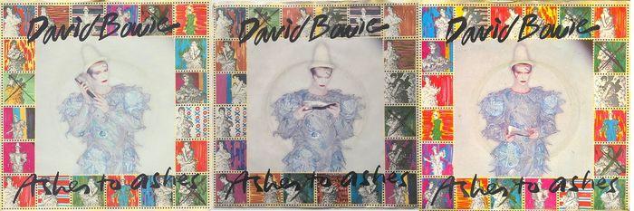"""Original Single """"Ashes to Ashes"""" mit 3 verschiedenen Plattenhüllen, 1980"""