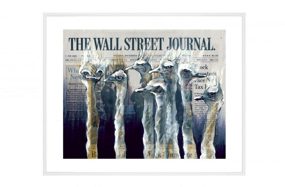 LISA TÖRNER - Business as usual at Wall Street XL | Foto: Absolut Art