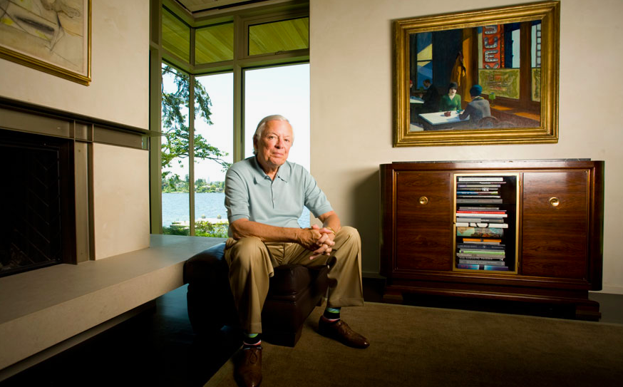 American art collector Barneby A. Ebsworth. Photo: Christie's