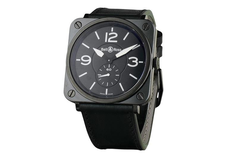 Reloj de pulsera BELL & ROSS Aviation 39 en cerámica para caballero